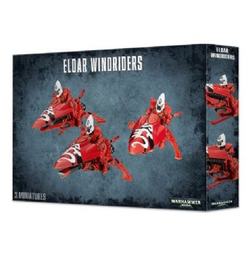 Games Workshop Warhammer 40K Eldar Windriders 46-06